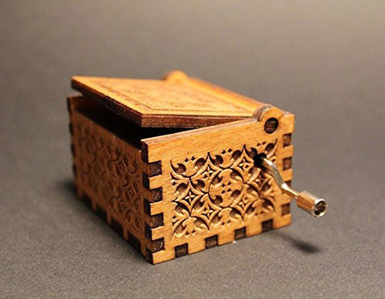Pirates of the Caribbean Theme Song Handmade Wooden Music Box