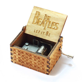 Let It Be by The Beatles Handmade Wooden Music Box