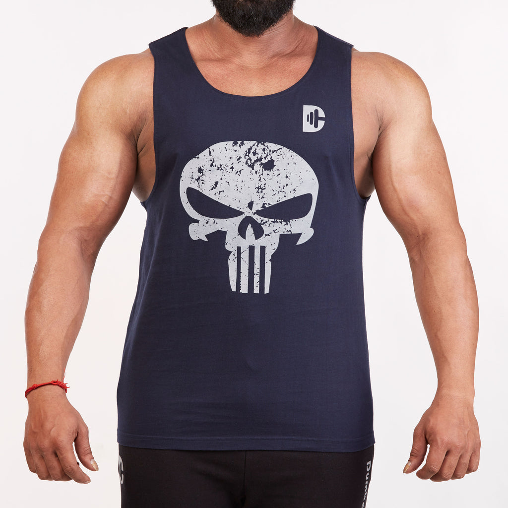 DB100 Tank Top Navy