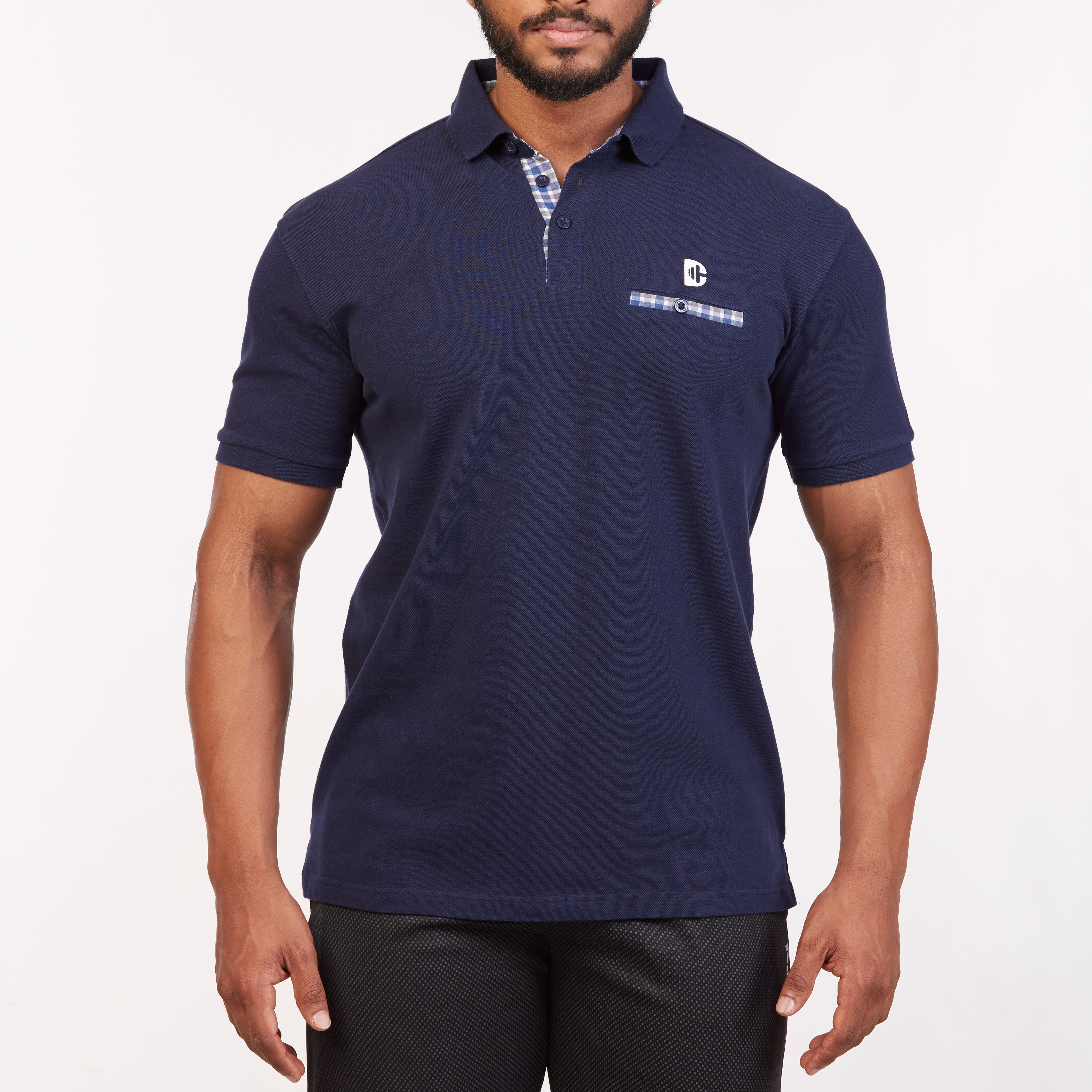 DB024 Polo T-Shirt - Navy