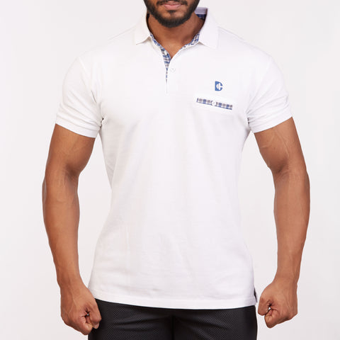 DB024 Polo T-Shirt - White