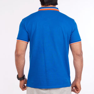 DB067 Polo Tee Shirt - Royal Blue