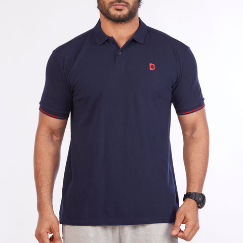 DB032 Polo Tee Shirts - Navy