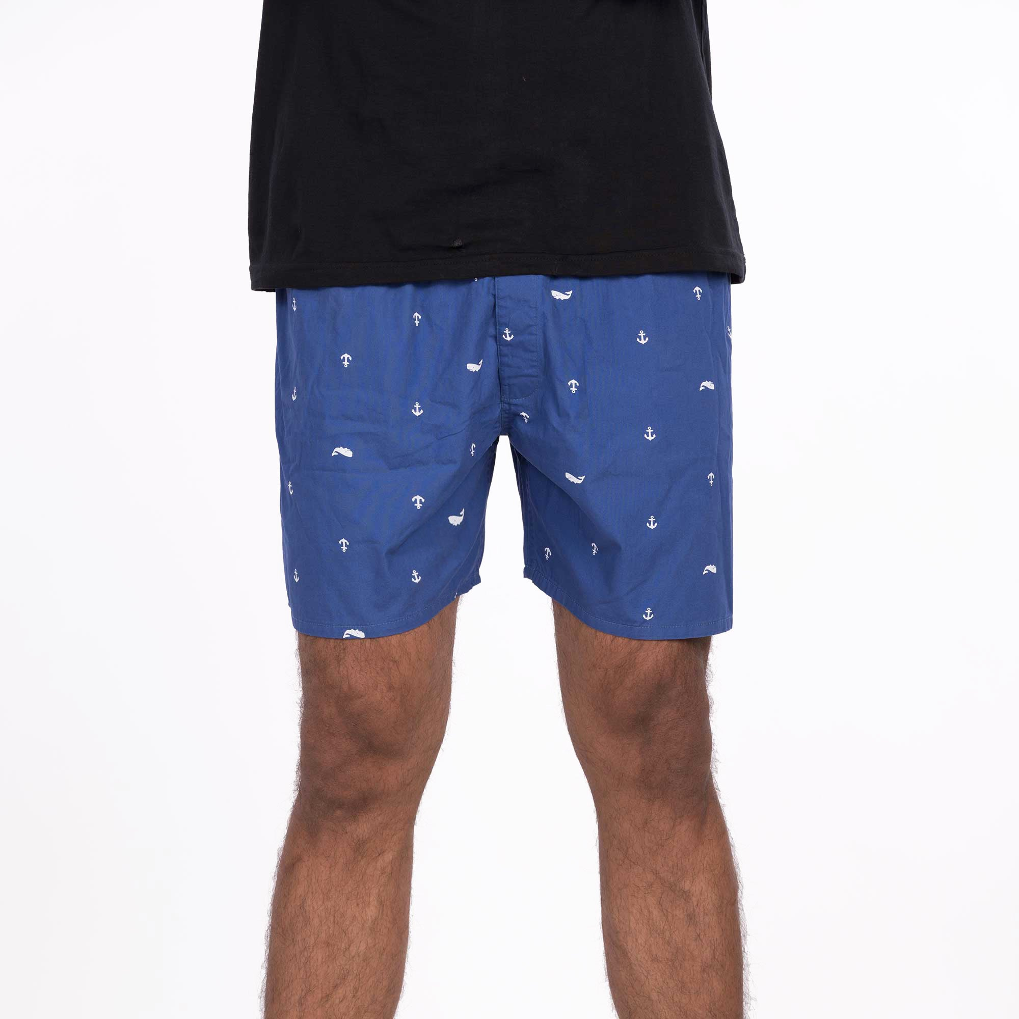 DMB01 Men's Boxer Shorts - Blue