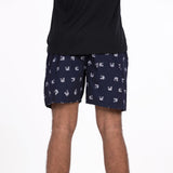 DMB01 Men's Boxer Shorts - DARK BLUE