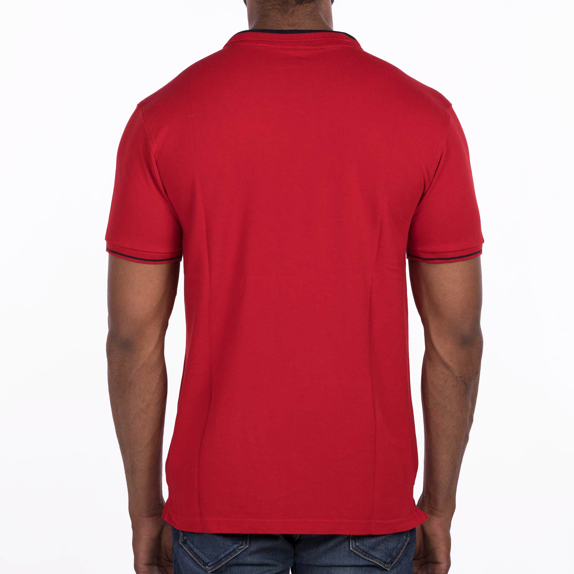 DB070 Polo Tees - Red