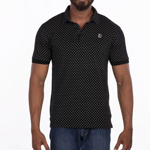 DB058 Polo Tee Shirt - Black