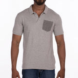 DB030 Polo - Grey Melange