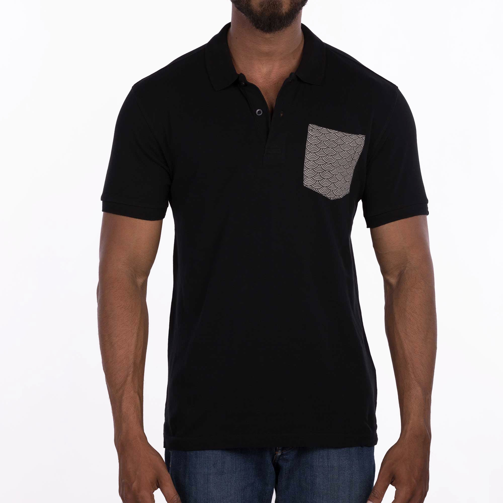 DB030 Polo - Black