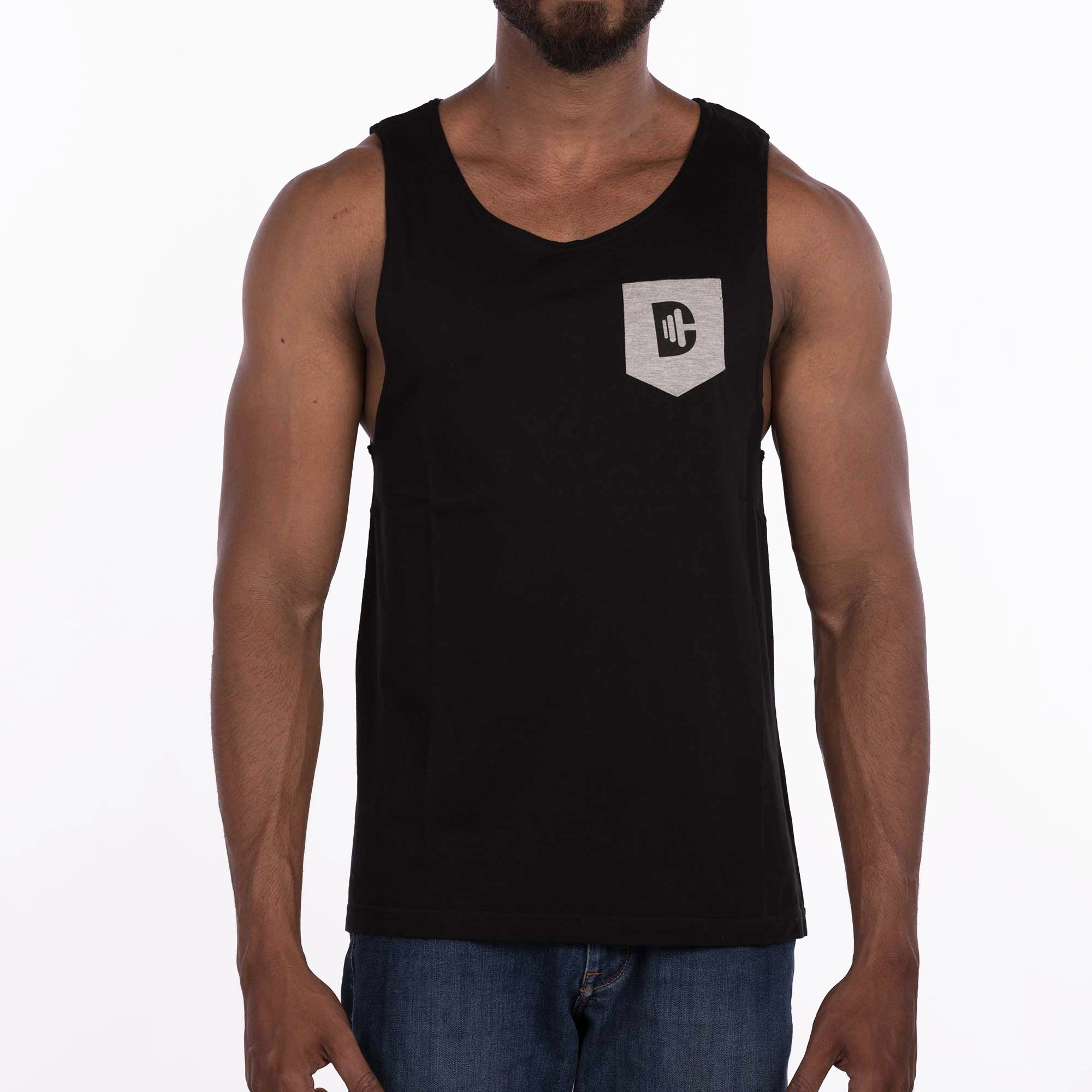 DB101 Pocket Vest - Black