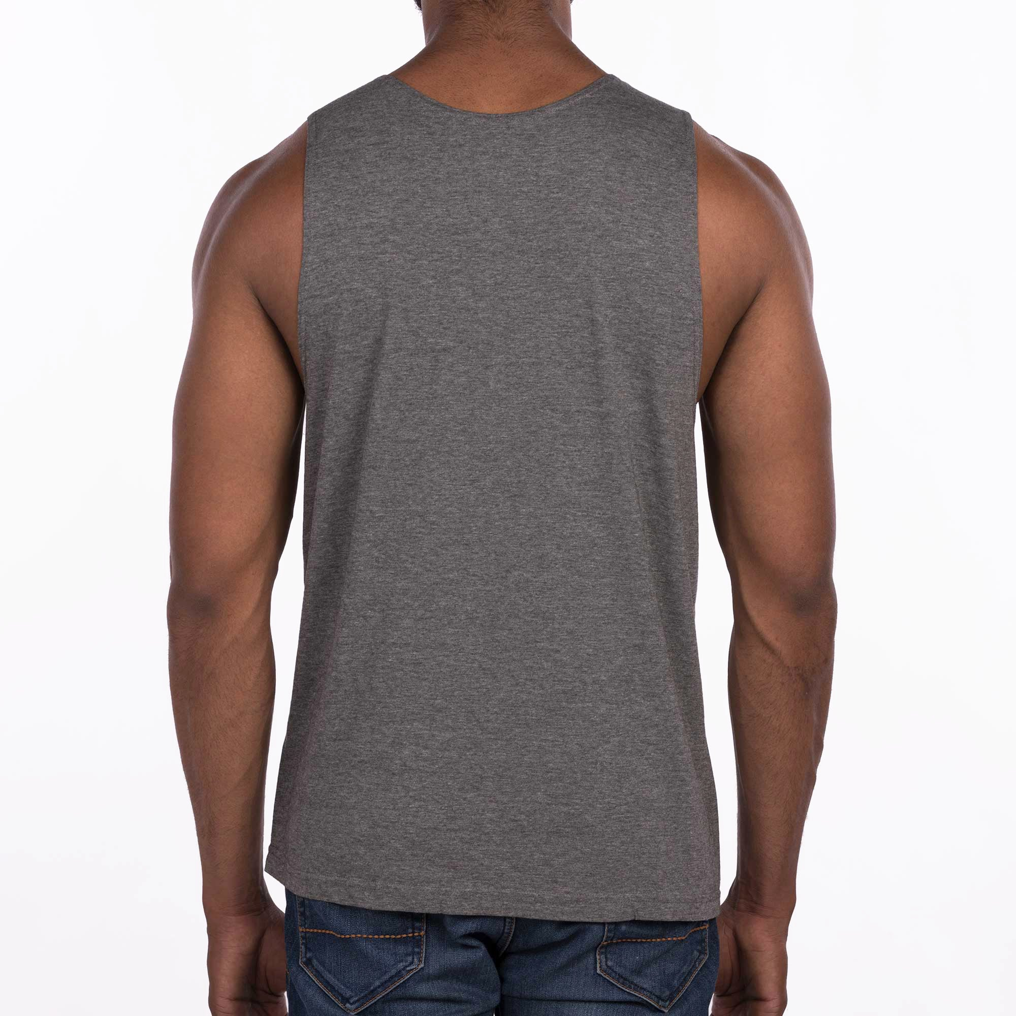 DB101 Pocket Vest - Charcoal Melange