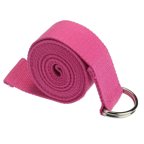 New Yoga Stretch Strap D-Ring - 180CM Adjustable