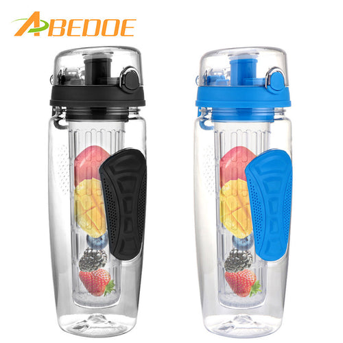 Fruit Infuser Bottle 900ml/32oz BPA-Free Shatter-Resistant and Impact-Resistant