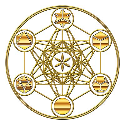 Metatrons Cube design from SacredGeometrical.com
