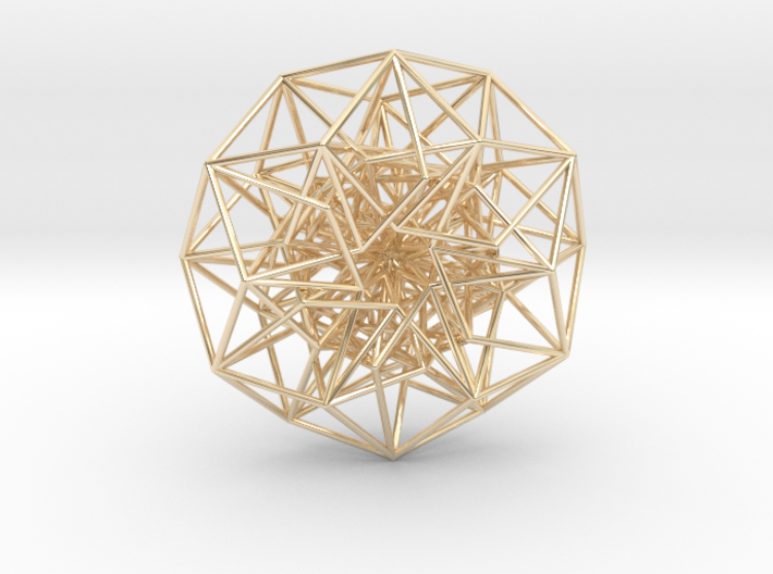 6D Cube in its Toroidal form - 50x1mm - 61 vertices version - no ring