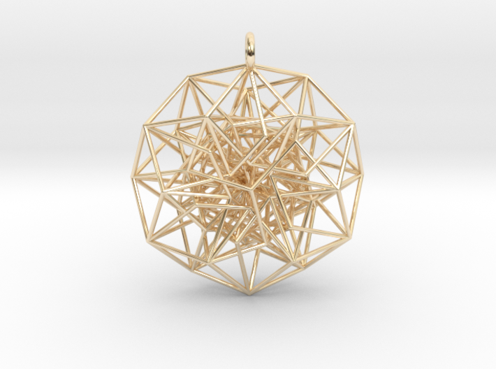 6D Cube in its Toroidal form - 50x1mm - 64 vertices version