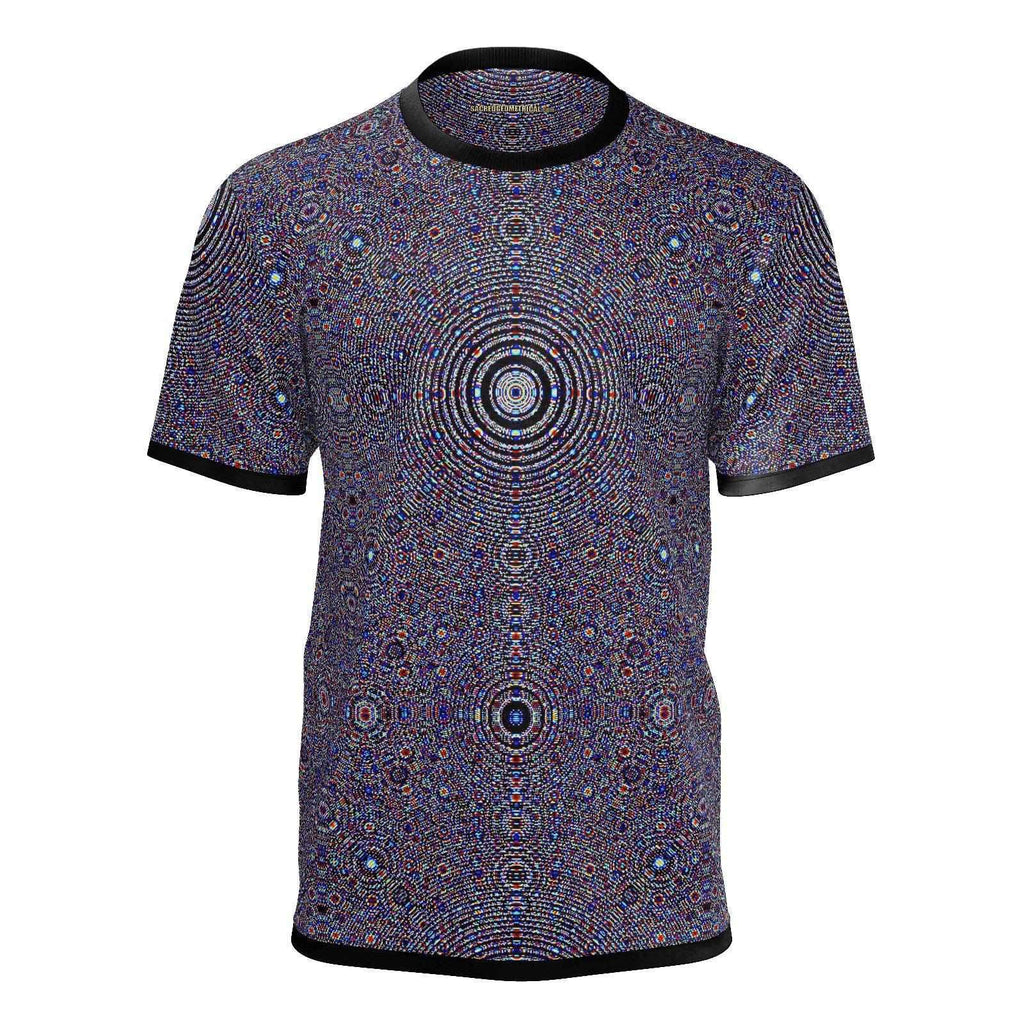 Fractal Atomic Matrix - Mans Tshirt