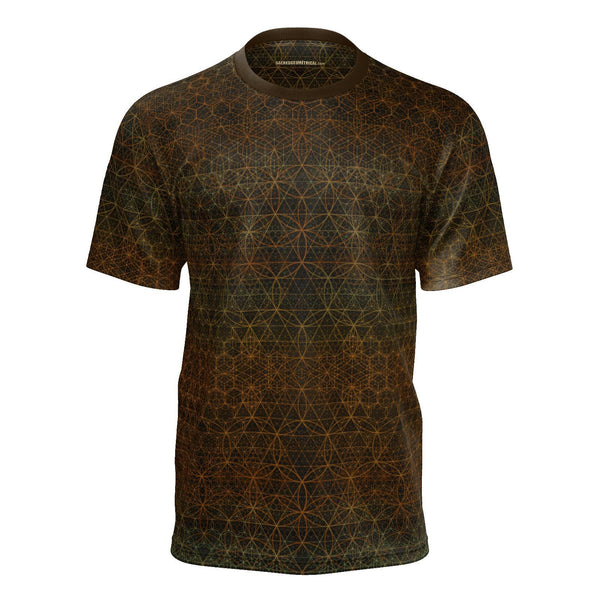 Garden of Life - Autumn-Shirt-Sacred Geometry Web mens clothing