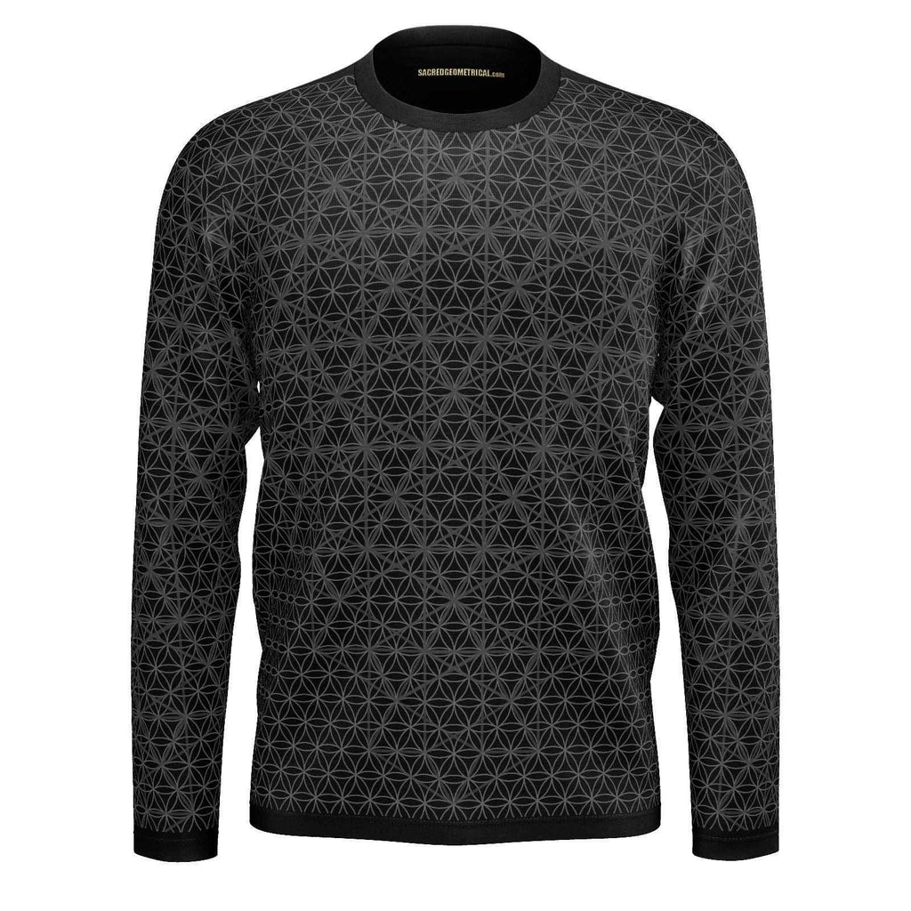 Isotropic Vector - Mens LS Tshirt-Shirt-Sacred Geometry Web mens clothing