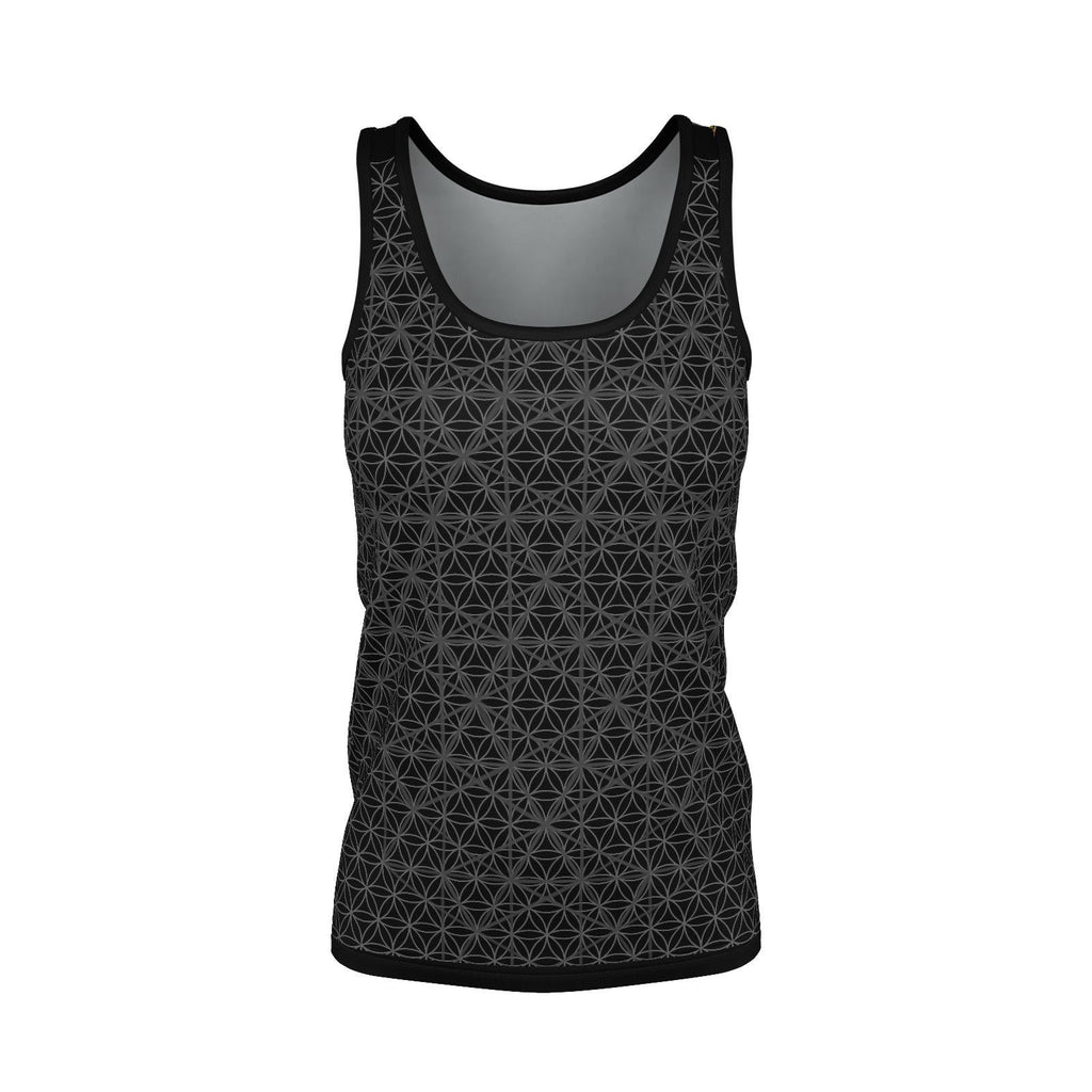 Isotropic Vector Phoenix - Womens Tank Top-Shirt-Sacred Geometry Web - Womens Flower of Life clothing