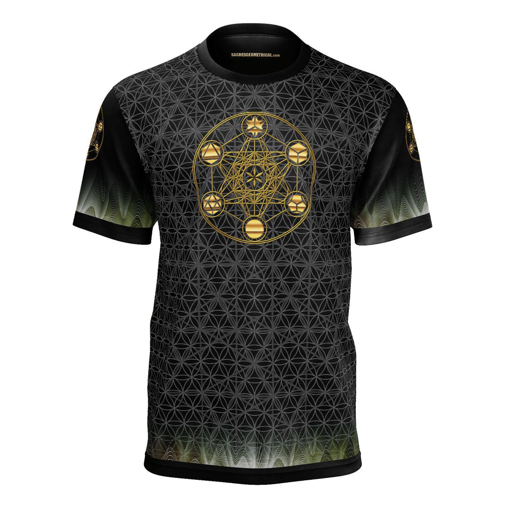 Metatron's Cube - Tshirt-Shirt-Sacred Geometry Web mens clothing