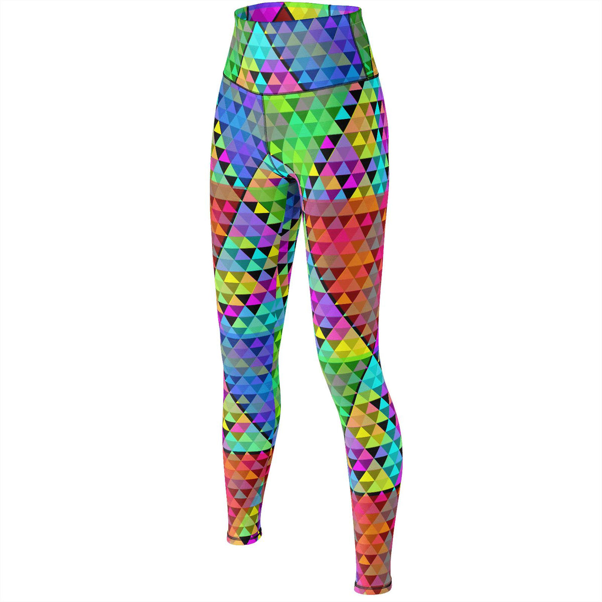 697942926ac72 Spectral Triangles - Yoga Pants – Sacred Geometrical
