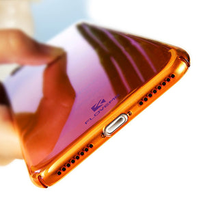 Coque iPhone Luxury Blue Light