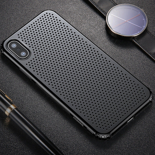 Coque iPhone X Breath