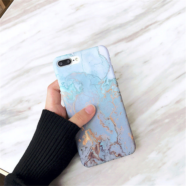 Coque iPhone Color Marble