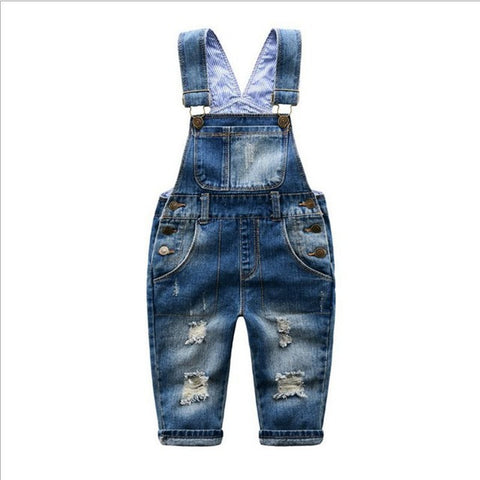 Baby Denim Jumpsuit