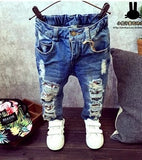 Cartoon Fashion Jeans