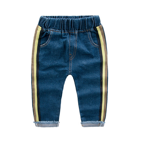 Cartoon Denim Pants