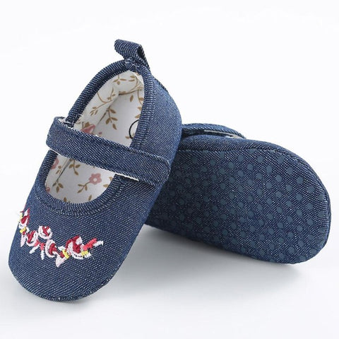 Print Denim Shoes
