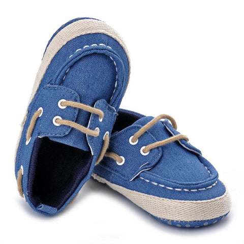 Crib Soft Denim Shoes