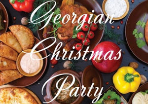 Christmas Georgian Party in Geneva - 07.12.18