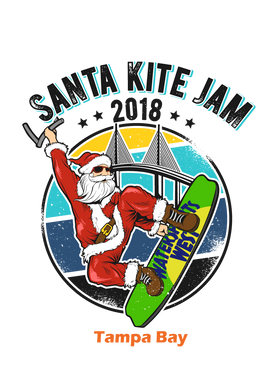 Short Sleeve Santa Clause (Watersports West)