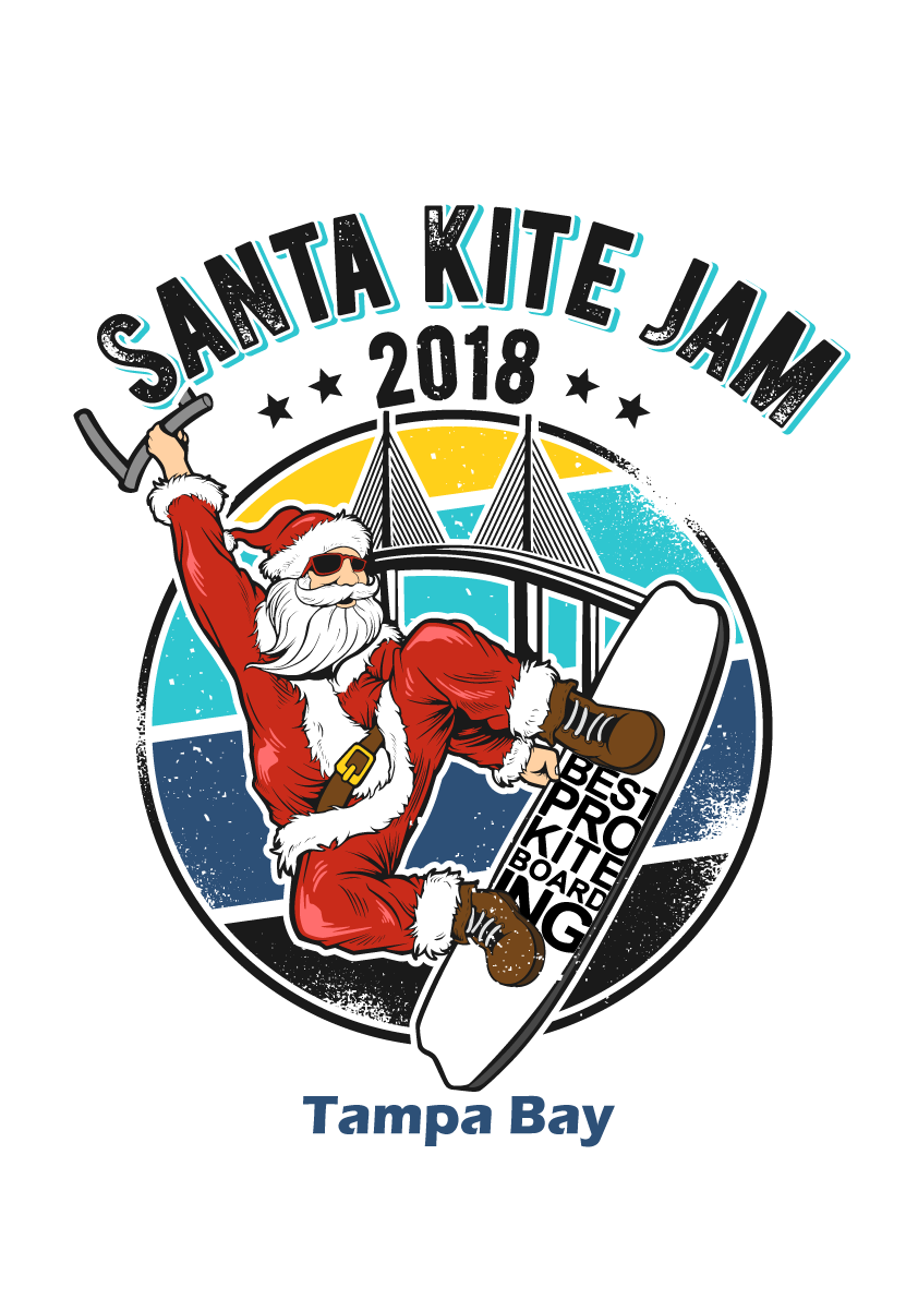 Short Sleeve Santa Clause (Best Pro Kiteboarding)