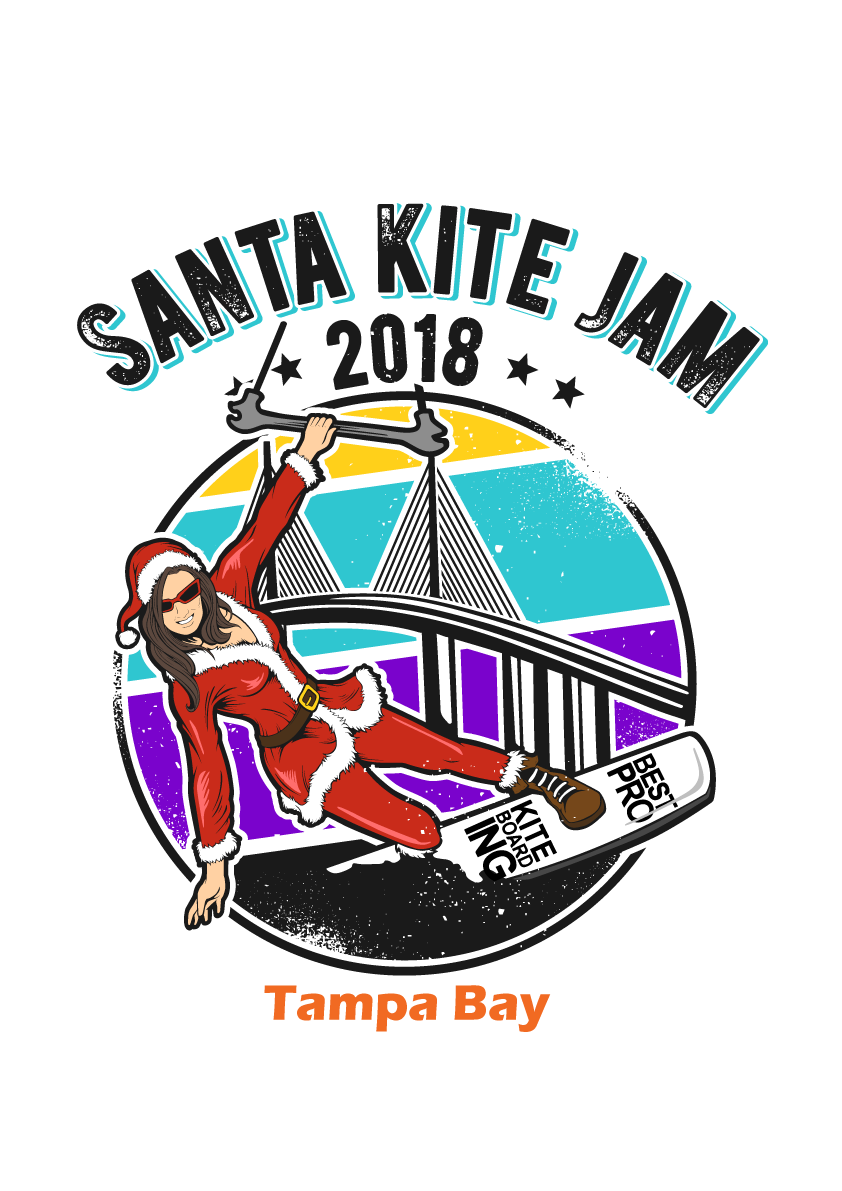 Short Sleeve Mrs. Clause (Best Pro Kiteboarding)