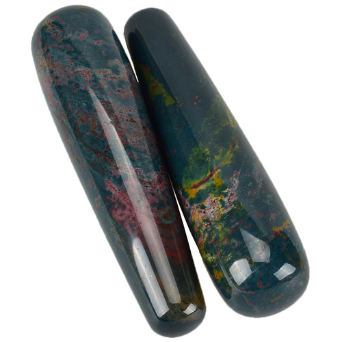 Large Indian Agate Yoni Wand - The Glass Dildo @ theglassdildo.co.uk