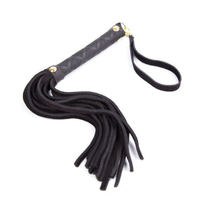 On The Lash Leather Flogger - The Glass Dildo @ theglassdildo.co.uk