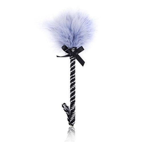 The Candy Stick Feather Tickler - The Glass Dildo @ theglassdildo.co.uk