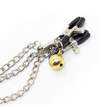 The Bell Chain Nipple Clamps - The Glass Dildo @ theglassdildo.co.uk