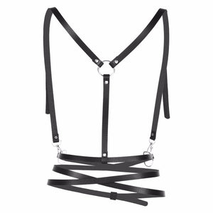The Harajuku Body Harness - The Glass Dildo @ theglassdildo.co.uk