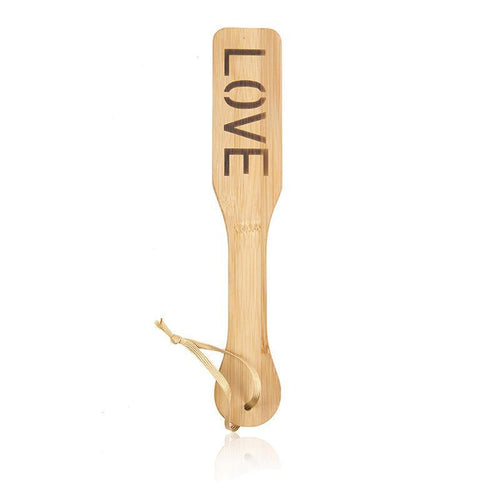 The Love/Heart Spanking Paddle - The Glass Dildo @ theglassdildo.co.uk
