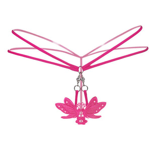 The Butterfly Diamond Thong - The Glass Dildo @ theglassdildo.co.uk