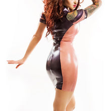 The Contrasting Perspective Latex Dress - The Glass Dildo @ theglassdildo.co.uk