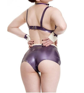 Naughty Miss Latex Panties - The Glass Dildo @ theglassdildo.co.uk