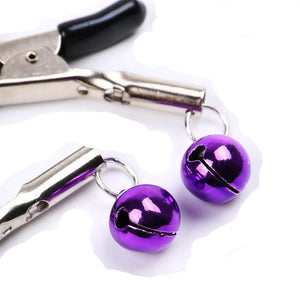 Crystal Drop Nipple Clips - The Glass Dildo @ theglassdildo.co.uk