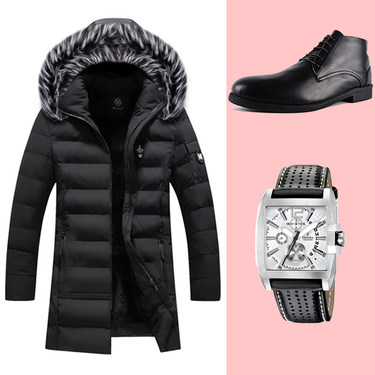 Pack M701 (Jacket + Chaussure + Montre)