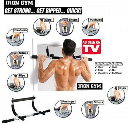 B-IRON GYM - BARRE FIXE